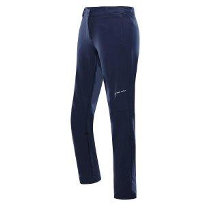 Dámské softshellové kalhoty ALPINE PRO HYPSEUS 4 LPAT308 TMAVĚ MODRÁ
