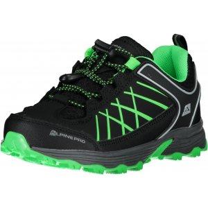 Dětské boty ALPINE PRO NAO KBTT282 ČERNÁ