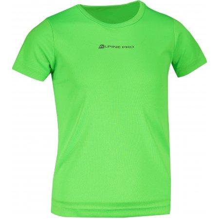 Dětské funkční triko ALPINE PRO HOTO 2 KTST162 ZELENÁ