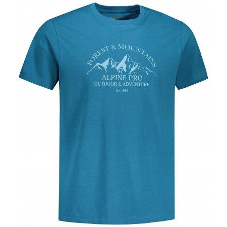 Pánské triko ALPINE PRO AMIT 8 MTST583 MODRÁ