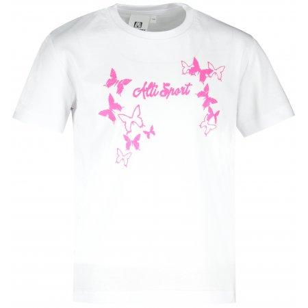 Dětské triko ALTISPORT ALK011138 BÍLÁ