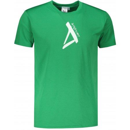 Pánské funkční triko ALTISPORT ALM014124 STŘEDNĚ ZELENÁ