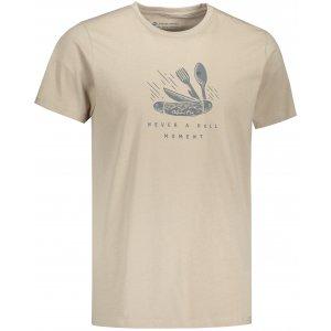 Pánské triko ALPINE PRO UNEG 9 MTST578 BÉŽOVÁ