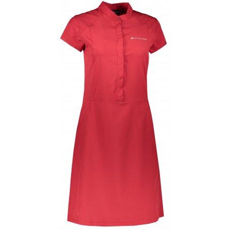 Dámské sportovní šaty ALPINE PRO VAKIA 4 LSKT283 ČERVENÁ