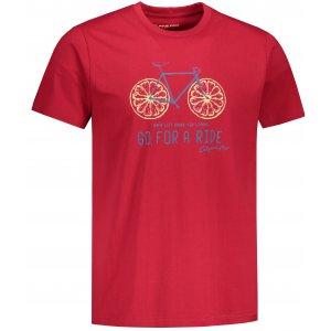 Pánské triko ALPINE PRO AMIT 8 MTST583 ČERVENÁ