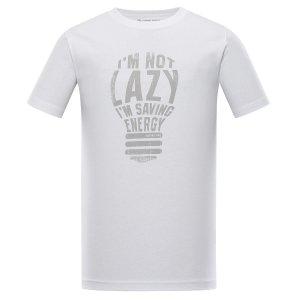 Pánské triko ALPINE PRO EKOS MTST553 BÍLÁ