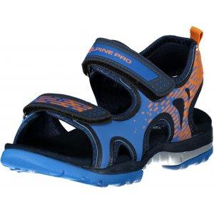 Dětské sandále ALPINE PRO LYLO KBTT287 SVĚTLE MODRÁ