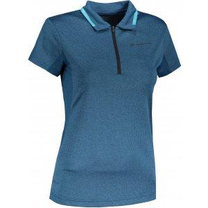 Dámské funkční triko s límečkem ALPINE PRO ISTASA 3 LTST710 MODRÁ