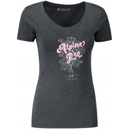 Dámské triko ALPINE PRO LAILA 4 LTST713 ČERNÁ