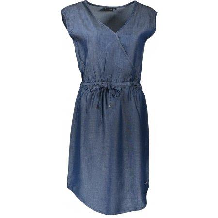 Dámské šaty ALPINE PRO LANA LSKT286 TMAVĚ MODRÁ