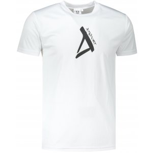 Pánské funkční triko ALTISPORT ALM014124 BÍLÁ