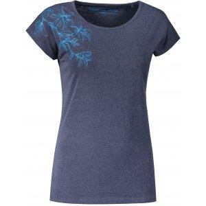 Dámské triko ALPINE PRO POSKA LTST785 TMAVĚ MODRÁ