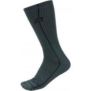 Ponožky ALPINE PRO BANFF 2 USCZ039 TMAVĚ ŠEDÁ