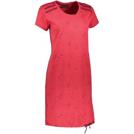 Dámské šaty ALPINE PRO LEXA LSKT343 ČERVENÁ