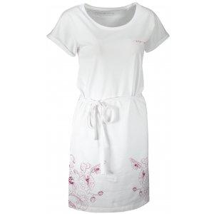Dámské šaty ALPINE PRO LADA LSKT345 BÍLÁ