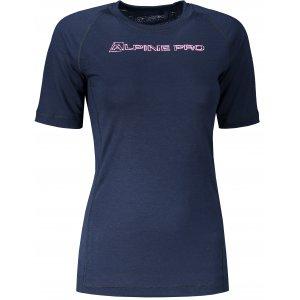 Dámské funkční triko ALPINE PRO MERINA 3 LTST596 MODRÁ