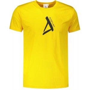 Pánské funkční triko ALTISPORT ALM014124 ŽLUTÁ