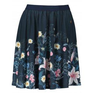 Dámská sukně KIXMI LETICIA TMAVĚ MODRÁ