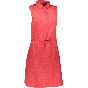 Dámské šaty ALPINE PRO PATA 2 LSKT284 ČERVENÁ