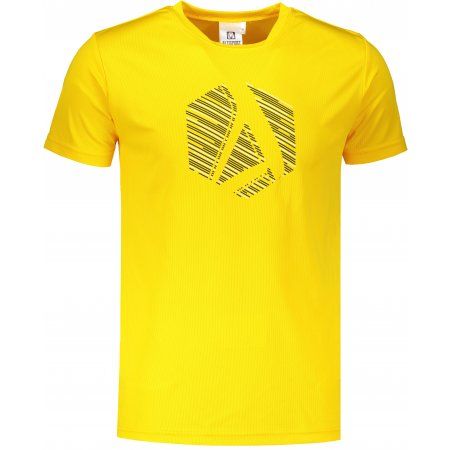 Pánské funkční triko ALTISPORT ALM033124 ŽLUTÁ