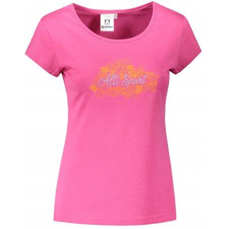 Dámské triko ALTISPORT ALW057122 PURPUROVÁ