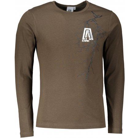 Pánské triko s dlouhým rukávem ALTISPORT ALM027119 ARMY