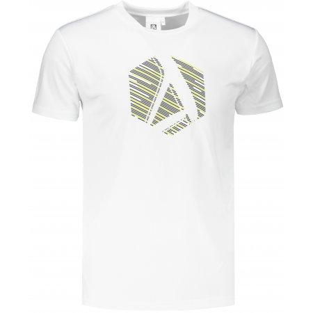 Pánské funkční triko ALTISPORT ALM033124 BÍLÁ