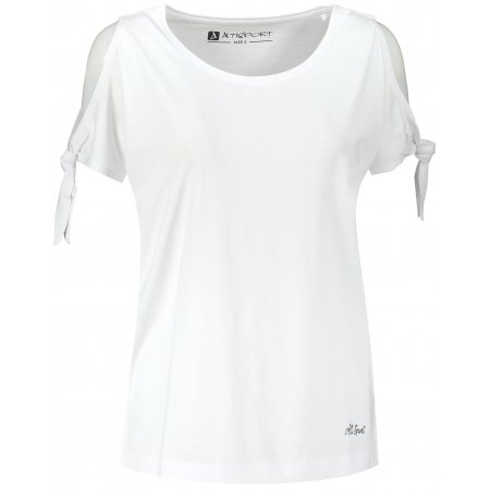Dámské triko s krátkým rukávem ALTISPORT TRUDA LTST773 BÍLÁ