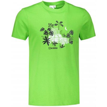 Pánské triko ALTISPORT ALM059129 APPLE GREEN