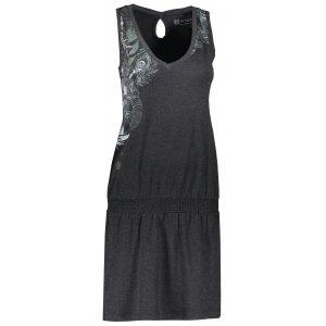 Dámské šaty ALTISPORT ELAXA LSKT335 ČERNÁ