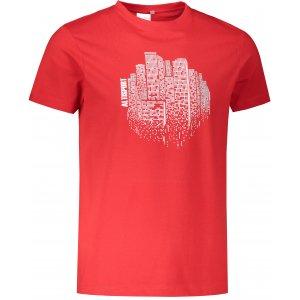 Pánské triko ALTISPORT ALM060129 ČERVENÁ