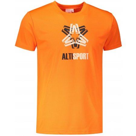 Pánské funkční triko ALTISPORT ALM046124 NEON ORANGE