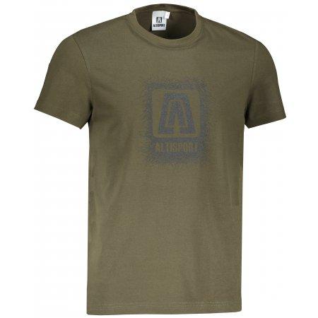 Pánské triko ALTISPORT ALM064129 MILITARY