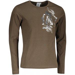Pánské triko s dlouhým rukávem ALTISPORT ALM032119 ARMY