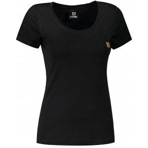 Dámské premium triko ALTISPORT MERINO ALW065158 ČERNÁ