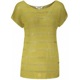 Dámské svetrové triko KIXMI LANETTE ZELENÁ