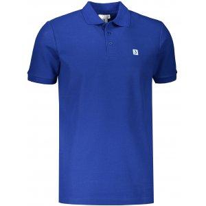 Pánské triko s límečkem ALTISPORT ALM065203 KRÁLOVSKÁ MODRÁ
