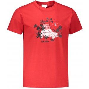 Pánské triko ALTISPORT ALM059129 ČERVENÁ