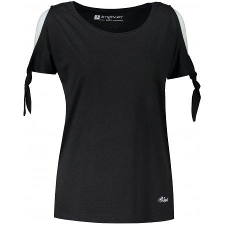 Dámské triko s krátkým rukávem ALTISPORT TRUDA LTST773 ČERNÁ