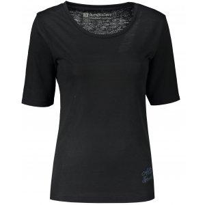 Dámské triko s krátkým rukávem ALTISPORT ARICA LTST772 ČERNÁ