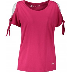 Dámské triko s krátkým rukávem ALTISPORT TRUDA LTST773 RŮŽOVÁ