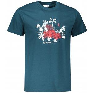 Pánské triko ALTISPORT ALM059129 PETROLEJOVÁ