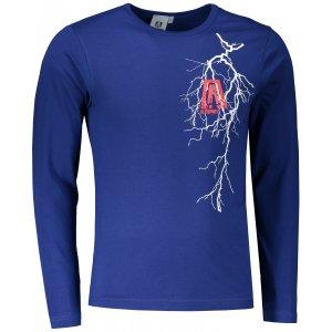 Pánské triko s dlouhým rukávem ALTISPORT ALM027119 KRÁLOVSKÁ MODRÁ