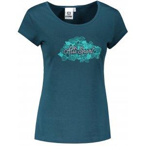 Dámské triko ALTISPORT ALW057122 PETROLEJOVÁ