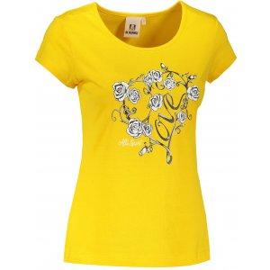 Dámské triko ALTISPORT ALW062122 ŽLUTÁ