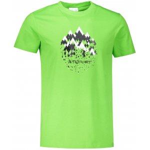 Pánské triko ALTISPORT ALM068129 APPLE GREEN