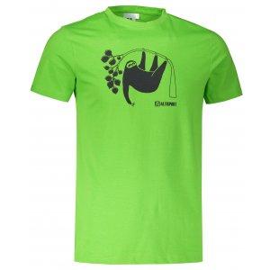 Pánské triko ALTISPORT ALM070129 APPLE GREEN