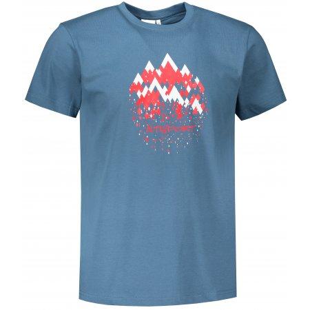 Pánské triko ALTISPORT ALM068129 DENIM