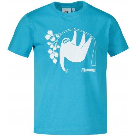 Dětské triko ALTISPORT ALK070138 TYRKYSOVÁ