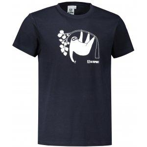 Pánské triko ALTISPORT ALM070129 NÁMOŘNÍ MODRÁ